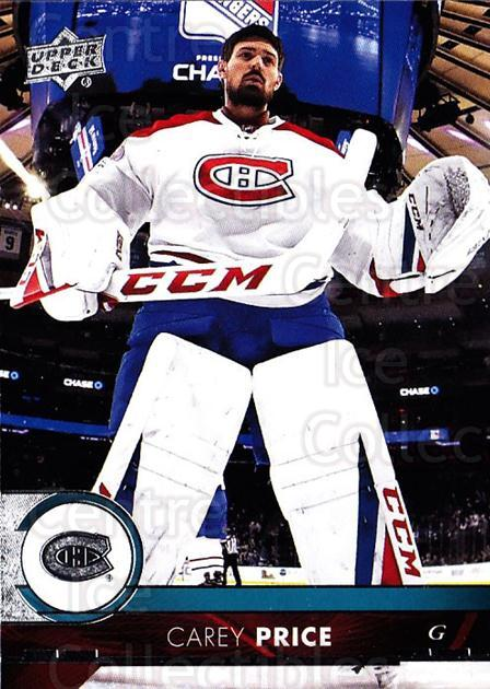 2017-18 Upper Deck #102 Carey Price<br/>11 In Stock - $3.00 each - <a href=https://centericecollectibles.foxycart.com/cart?name=2017-18%20Upper%20Deck%20%23102%20Carey%20Price...&price=$3.00&code=715296 class=foxycart> Buy it now! </a>