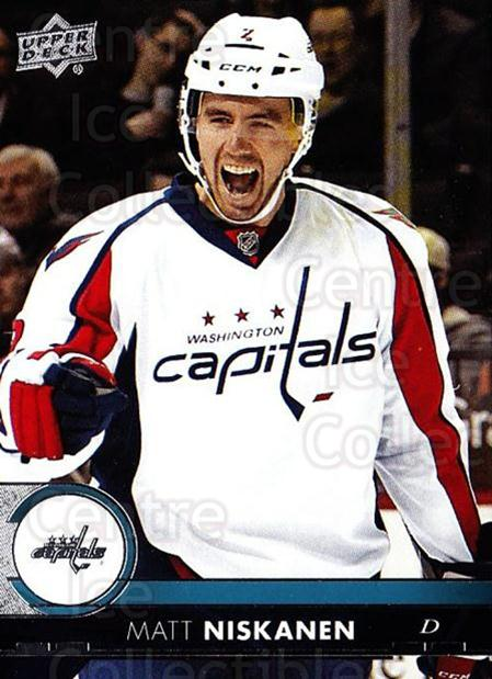 2017-18 Upper Deck #191 Matt Niskanen<br/>12 In Stock - $1.00 each - <a href=https://centericecollectibles.foxycart.com/cart?name=2017-18%20Upper%20Deck%20%23191%20Matt%20Niskanen...&quantity_max=12&price=$1.00&code=715385 class=foxycart> Buy it now! </a>