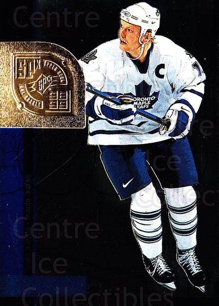 1998-99 SPx Top Prospects #55 Mats Sundin<br/>5 In Stock - $1.00 each - <a href=https://centericecollectibles.foxycart.com/cart?name=1998-99%20SPx%20Top%20Prospects%20%2355%20Mats%20Sundin...&quantity_max=5&price=$1.00&code=71540 class=foxycart> Buy it now! </a>