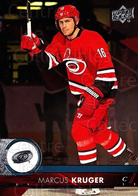 2017-18 Upper Deck #288 Marcus Kruger<br/>11 In Stock - $1.00 each - <a href=https://centericecollectibles.foxycart.com/cart?name=2017-18%20Upper%20Deck%20%23288%20Marcus%20Kruger...&quantity_max=11&price=$1.00&code=715482 class=foxycart> Buy it now! </a>