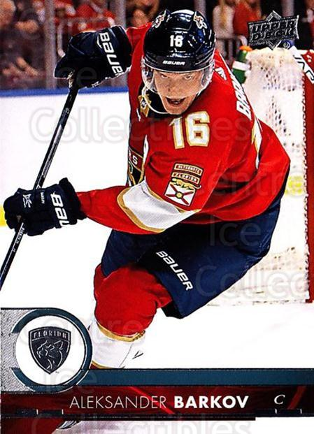 2017-18 Upper Deck #327 Aleksander Barkov<br/>11 In Stock - $1.00 each - <a href=https://centericecollectibles.foxycart.com/cart?name=2017-18%20Upper%20Deck%20%23327%20Aleksander%20Bark...&quantity_max=11&price=$1.00&code=715521 class=foxycart> Buy it now! </a>