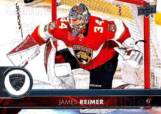 2017-18 Upper Deck #331 James Reimer<br/>10 In Stock - $1.00 each - <a href=https://centericecollectibles.foxycart.com/cart?name=2017-18%20Upper%20Deck%20%23331%20James%20Reimer...&price=$1.00&code=715525 class=foxycart> Buy it now! </a>