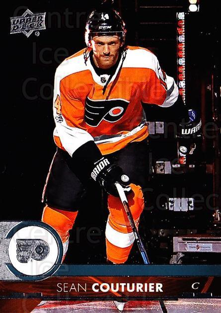2017-18 Upper Deck #389 Sean Couturier<br/>12 In Stock - $1.00 each - <a href=https://centericecollectibles.foxycart.com/cart?name=2017-18%20Upper%20Deck%20%23389%20Sean%20Couturier...&quantity_max=12&price=$1.00&code=715583 class=foxycart> Buy it now! </a>