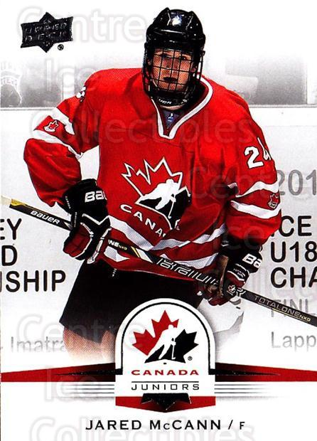 2014-15 Upper Deck Team Canada #34 Jared McCann<br/>3 In Stock - $1.00 each - <a href=https://centericecollectibles.foxycart.com/cart?name=2014-15%20Upper%20Deck%20Team%20Canada%20%2334%20Jared%20McCann...&quantity_max=3&price=$1.00&code=715752 class=foxycart> Buy it now! </a>