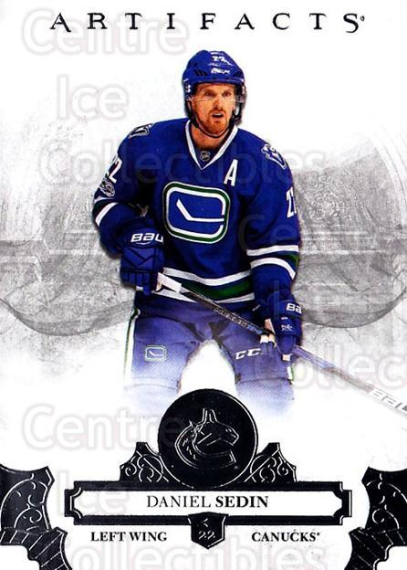 2017-18 UD Artifacts #15 Daniel Sedin<br/>2 In Stock - $1.00 each - <a href=https://centericecollectibles.foxycart.com/cart?name=2017-18%20UD%20Artifacts%20%2315%20Daniel%20Sedin...&quantity_max=2&price=$1.00&code=715940 class=foxycart> Buy it now! </a>