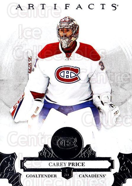 2017-18 UD Artifacts #72 Carey Price<br/>2 In Stock - $3.00 each - <a href=https://centericecollectibles.foxycart.com/cart?name=2017-18%20UD%20Artifacts%20%2372%20Carey%20Price...&quantity_max=2&price=$3.00&code=715997 class=foxycart> Buy it now! </a>