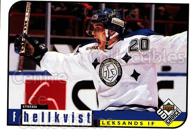 1998-99 Swedish UD Choice #128 Stefan Hellkvist<br/>8 In Stock - $2.00 each - <a href=https://centericecollectibles.foxycart.com/cart?name=1998-99%20Swedish%20UD%20Choice%20%23128%20Stefan%20Hellkvis...&quantity_max=8&price=$2.00&code=71606 class=foxycart> Buy it now! </a>