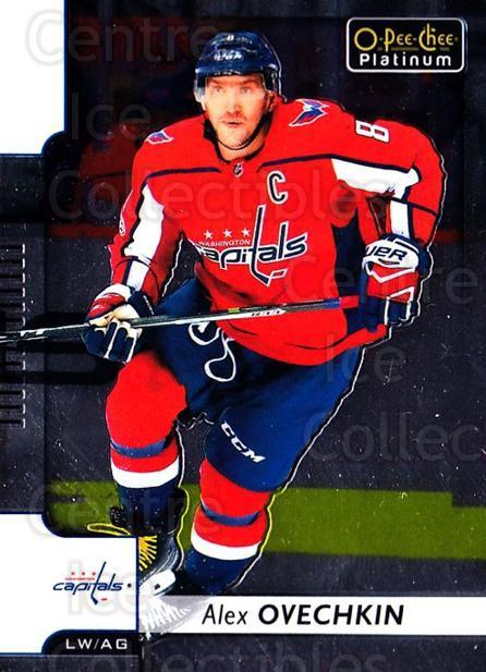 2017-18 O-Pee-Chee Platinum #75 Alexander Ovechkin<br/>4 In Stock - $3.00 each - <a href=https://centericecollectibles.foxycart.com/cart?name=2017-18%20O-Pee-Chee%20Platinum%20%2375%20Alexander%20Ovech...&price=$3.00&code=716251 class=foxycart> Buy it now! </a>