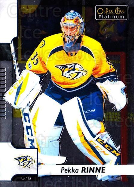2017-18 O-Pee-Chee Platinum #79 Pekka Rinne<br/>4 In Stock - $1.00 each - <a href=https://centericecollectibles.foxycart.com/cart?name=2017-18%20O-Pee-Chee%20Platinum%20%2379%20Pekka%20Rinne...&quantity_max=4&price=$1.00&code=716255 class=foxycart> Buy it now! </a>