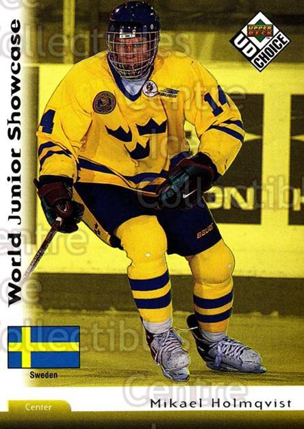 1998-99 Swedish UD Choice #214 Michael Holmqvist<br/>12 In Stock - $2.00 each - <a href=https://centericecollectibles.foxycart.com/cart?name=1998-99%20Swedish%20UD%20Choice%20%23214%20Michael%20Holmqvi...&quantity_max=12&price=$2.00&code=71701 class=foxycart> Buy it now! </a>