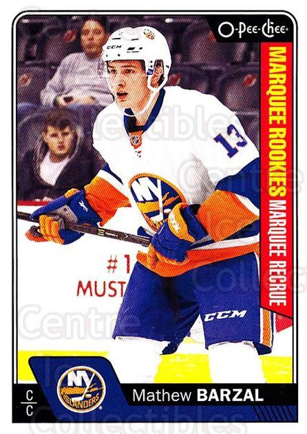2016-17 O-Pee-Chee #689 Mathew Barzal<br/>2 In Stock - $10.00 each - <a href=https://centericecollectibles.foxycart.com/cart?name=2016-17%20O-Pee-Chee%20%23689%20Mathew%20Barzal...&quantity_max=2&price=$10.00&code=717065 class=foxycart> Buy it now! </a>
