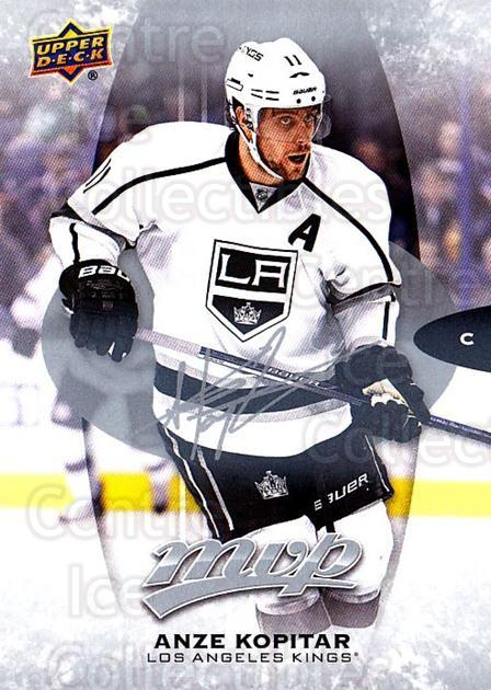 2016-17 Upper Deck MVP Silver Script #203 Anze Kopitar<br/>1 In Stock - $3.00 each - <a href=https://centericecollectibles.foxycart.com/cart?name=2016-17%20Upper%20Deck%20MVP%20Silver%20Script%20%23203%20Anze%20Kopitar...&quantity_max=1&price=$3.00&code=717091 class=foxycart> Buy it now! </a>