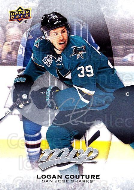 2016-17 Upper Deck MVP Silver Script #206 Logan Couture<br/>1 In Stock - $3.00 each - <a href=https://centericecollectibles.foxycart.com/cart?name=2016-17%20Upper%20Deck%20MVP%20Silver%20Script%20%23206%20Logan%20Couture...&quantity_max=1&price=$3.00&code=717092 class=foxycart> Buy it now! </a>