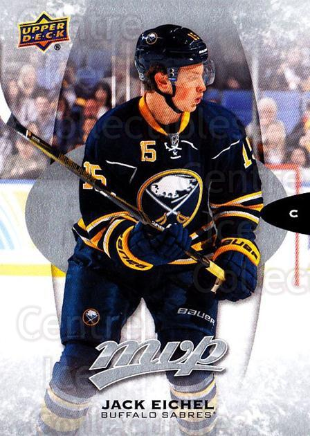 2016-17 Upper Deck MVP Silver Script #215 Jack Eichel<br/>1 In Stock - $3.00 each - <a href=https://centericecollectibles.foxycart.com/cart?name=2016-17%20Upper%20Deck%20MVP%20Silver%20Script%20%23215%20Jack%20Eichel...&quantity_max=1&price=$3.00&code=717096 class=foxycart> Buy it now! </a>