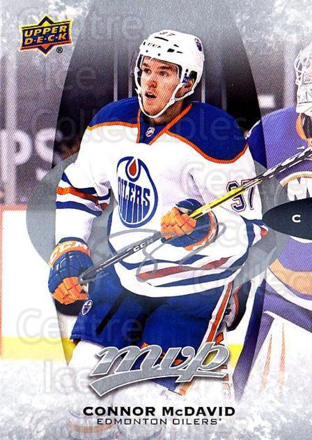 2016-17 Upper Deck MVP Silver Script #242 Connor McDavid<br/>1 In Stock - $10.00 each - <a href=https://centericecollectibles.foxycart.com/cart?name=2016-17%20Upper%20Deck%20MVP%20Silver%20Script%20%23242%20Connor%20McDavid...&quantity_max=1&price=$10.00&code=717103 class=foxycart> Buy it now! </a>