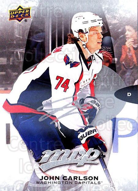 2016-17 Upper Deck MVP Silver Script #261 John Carlson<br/>1 In Stock - $3.00 each - <a href=https://centericecollectibles.foxycart.com/cart?name=2016-17%20Upper%20Deck%20MVP%20Silver%20Script%20%23261%20John%20Carlson...&quantity_max=1&price=$3.00&code=717109 class=foxycart> Buy it now! </a>