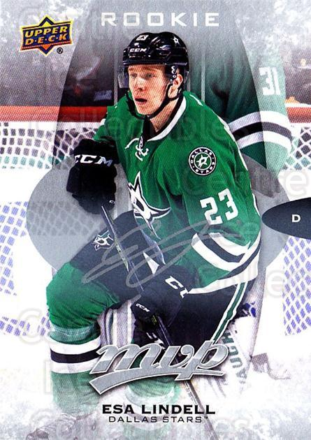 2016-17 Upper Deck MVP Silver Script #292 Esa Lindell<br/>1 In Stock - $3.00 each - <a href=https://centericecollectibles.foxycart.com/cart?name=2016-17%20Upper%20Deck%20MVP%20Silver%20Script%20%23292%20Esa%20Lindell...&quantity_max=1&price=$3.00&code=717114 class=foxycart> Buy it now! </a>
