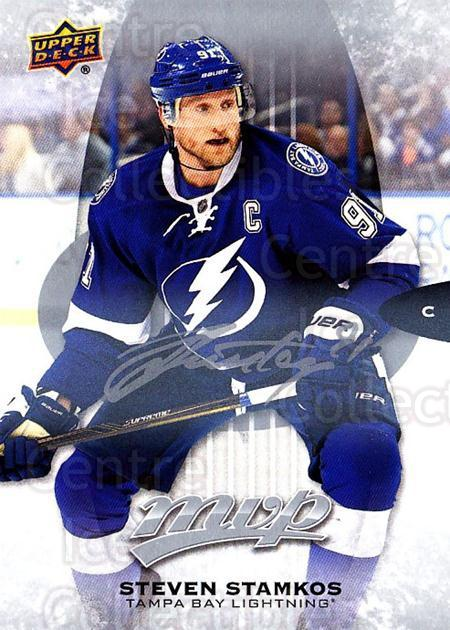 2016-17 Upper Deck MVP Silver Script #201 Steven Stamkos<br/>3 In Stock - $3.00 each - <a href=https://centericecollectibles.foxycart.com/cart?name=2016-17%20Upper%20Deck%20MVP%20Silver%20Script%20%23201%20Steven%20Stamkos...&quantity_max=3&price=$3.00&code=717122 class=foxycart> Buy it now! </a>