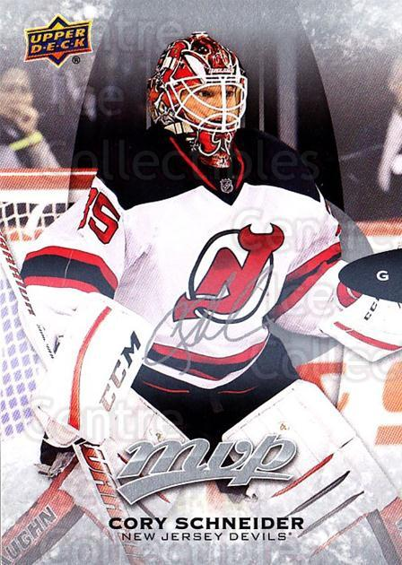 2016-17 Upper Deck MVP Silver Script #205 Cory Schneider<br/>1 In Stock - $3.00 each - <a href=https://centericecollectibles.foxycart.com/cart?name=2016-17%20Upper%20Deck%20MVP%20Silver%20Script%20%23205%20Cory%20Schneider...&quantity_max=1&price=$3.00&code=717125 class=foxycart> Buy it now! </a>