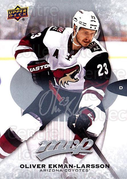 2016-17 Upper Deck MVP Silver Script #219 Oliver Ekman-Larsson<br/>2 In Stock - $3.00 each - <a href=https://centericecollectibles.foxycart.com/cart?name=2016-17%20Upper%20Deck%20MVP%20Silver%20Script%20%23219%20Oliver%20Ekman-La...&quantity_max=2&price=$3.00&code=717132 class=foxycart> Buy it now! </a>