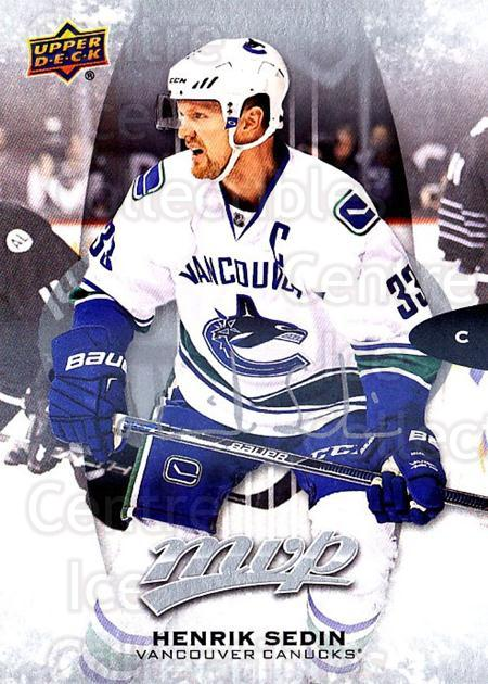 2016-17 Upper Deck MVP Silver Script #221 Henrik Sedin<br/>2 In Stock - $3.00 each - <a href=https://centericecollectibles.foxycart.com/cart?name=2016-17%20Upper%20Deck%20MVP%20Silver%20Script%20%23221%20Henrik%20Sedin...&quantity_max=2&price=$3.00&code=717134 class=foxycart> Buy it now! </a>