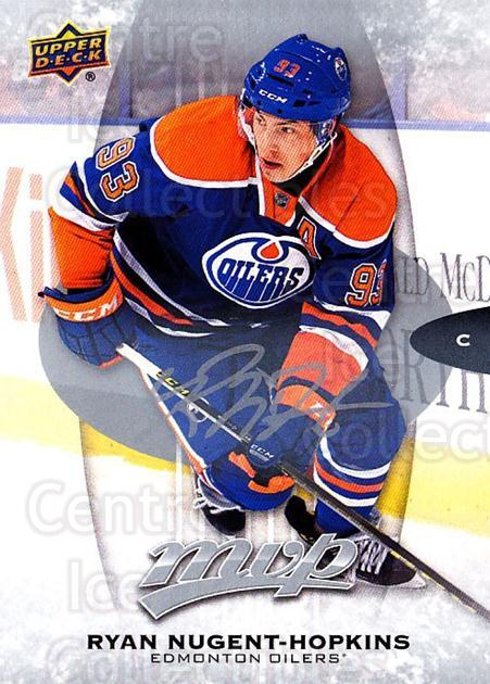 2016-17 Upper Deck MVP Silver Script #223 Ryan Nugent-Hopkins<br/>1 In Stock - $3.00 each - <a href=https://centericecollectibles.foxycart.com/cart?name=2016-17%20Upper%20Deck%20MVP%20Silver%20Script%20%23223%20Ryan%20Nugent-Hop...&quantity_max=1&price=$3.00&code=717135 class=foxycart> Buy it now! </a>
