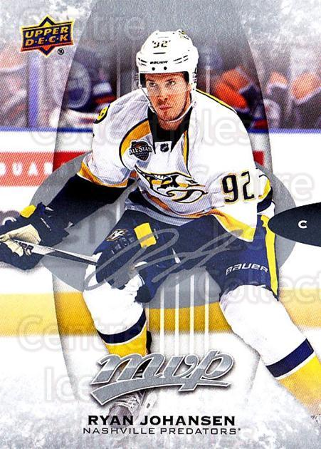 2016-17 Upper Deck MVP Silver Script #228 Ryan Johansen<br/>1 In Stock - $3.00 each - <a href=https://centericecollectibles.foxycart.com/cart?name=2016-17%20Upper%20Deck%20MVP%20Silver%20Script%20%23228%20Ryan%20Johansen...&quantity_max=1&price=$3.00&code=717138 class=foxycart> Buy it now! </a>