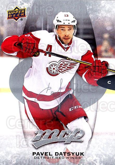 2016-17 Upper Deck MVP Silver Script #230 Pavel Datsyuk<br/>1 In Stock - $3.00 each - <a href=https://centericecollectibles.foxycart.com/cart?name=2016-17%20Upper%20Deck%20MVP%20Silver%20Script%20%23230%20Pavel%20Datsyuk...&quantity_max=1&price=$3.00&code=717140 class=foxycart> Buy it now! </a>