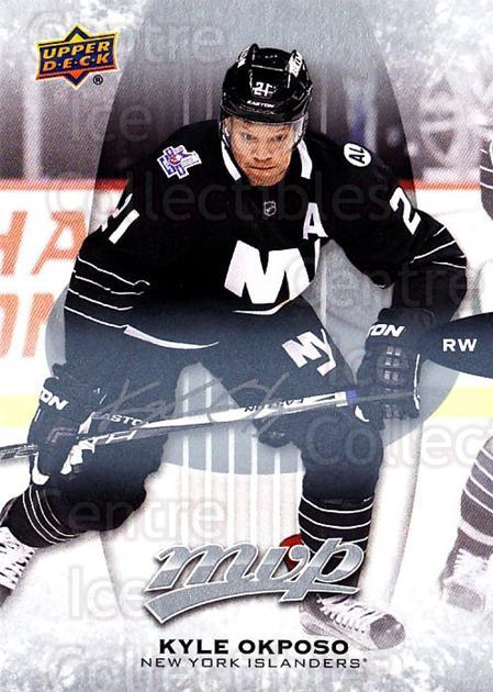 2016-17 Upper Deck MVP Silver Script #244 Kyle Okposo<br/>1 In Stock - $3.00 each - <a href=https://centericecollectibles.foxycart.com/cart?name=2016-17%20Upper%20Deck%20MVP%20Silver%20Script%20%23244%20Kyle%20Okposo...&quantity_max=1&price=$3.00&code=717158 class=foxycart> Buy it now! </a>
