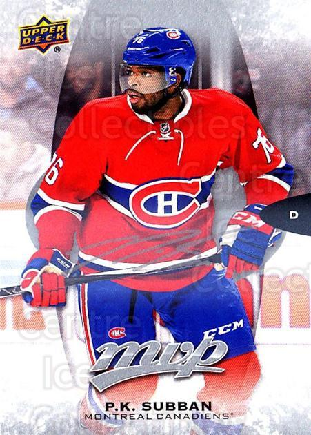 2016-17 Upper Deck MVP Silver Script #262 PK Subban<br/>3 In Stock - $3.00 each - <a href=https://centericecollectibles.foxycart.com/cart?name=2016-17%20Upper%20Deck%20MVP%20Silver%20Script%20%23262%20PK%20Subban...&quantity_max=3&price=$3.00&code=717168 class=foxycart> Buy it now! </a>