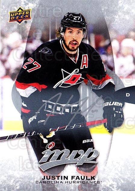 2016-17 Upper Deck MVP Silver Script #264 Justin Faulk<br/>1 In Stock - $3.00 each - <a href=https://centericecollectibles.foxycart.com/cart?name=2016-17%20Upper%20Deck%20MVP%20Silver%20Script%20%23264%20Justin%20Faulk...&quantity_max=1&price=$3.00&code=717170 class=foxycart> Buy it now! </a>