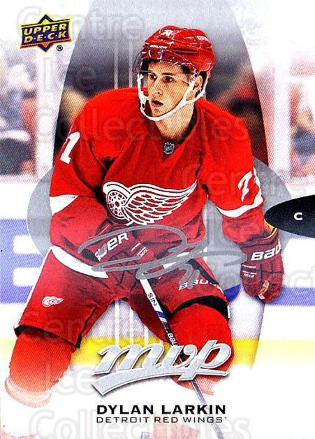 2016-17 Upper Deck MVP Silver Script #125 Dylan Larkin<br/>1 In Stock - $2.00 each - <a href=https://centericecollectibles.foxycart.com/cart?name=2016-17%20Upper%20Deck%20MVP%20Silver%20Script%20%23125%20Dylan%20Larkin...&quantity_max=1&price=$2.00&code=717196 class=foxycart> Buy it now! </a>