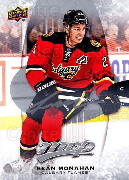 2016-17 Upper Deck MVP Silver Script #46 Sean Monahan<br/>1 In Stock - $3.00 each - <a href=https://centericecollectibles.foxycart.com/cart?name=2016-17%20Upper%20Deck%20MVP%20Silver%20Script%20%2346%20Sean%20Monahan...&quantity_max=1&price=$3.00&code=717203 class=foxycart> Buy it now! </a>