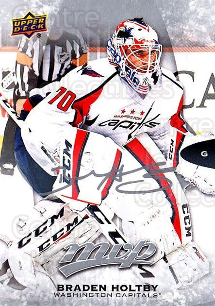 2016-17 Upper Deck MVP Silver Script #68 Braden Holtby<br/>3 In Stock - $2.00 each - <a href=https://centericecollectibles.foxycart.com/cart?name=2016-17%20Upper%20Deck%20MVP%20Silver%20Script%20%2368%20Braden%20Holtby...&quantity_max=3&price=$2.00&code=717204 class=foxycart> Buy it now! </a>