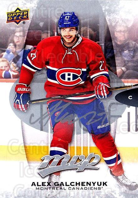 2016-17 Upper Deck MVP Silver Script #102 Alex Galchenyuk<br/>1 In Stock - $2.00 each - <a href=https://centericecollectibles.foxycart.com/cart?name=2016-17%20Upper%20Deck%20MVP%20Silver%20Script%20%23102%20Alex%20Galchenyuk...&quantity_max=1&price=$2.00&code=717207 class=foxycart> Buy it now! </a>