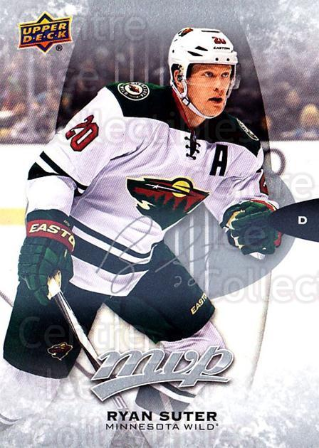 2016-17 Upper Deck MVP Silver Script #209 Ryan Suter<br/>2 In Stock - $3.00 each - <a href=https://centericecollectibles.foxycart.com/cart?name=2016-17%20Upper%20Deck%20MVP%20Silver%20Script%20%23209%20Ryan%20Suter...&quantity_max=2&price=$3.00&code=717219 class=foxycart> Buy it now! </a>