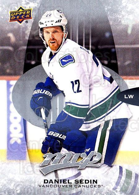 2016-17 Upper Deck MVP Silver Script #256 Daniel Sedin<br/>1 In Stock - $3.00 each - <a href=https://centericecollectibles.foxycart.com/cart?name=2016-17%20Upper%20Deck%20MVP%20Silver%20Script%20%23256%20Daniel%20Sedin...&quantity_max=1&price=$3.00&code=717223 class=foxycart> Buy it now! </a>