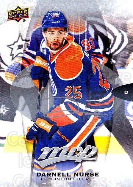 2016-17 Upper Deck MVP Silver Script #53 Darnell Nurse<br/>1 In Stock - $2.00 each - <a href=https://centericecollectibles.foxycart.com/cart?name=2016-17%20Upper%20Deck%20MVP%20Silver%20Script%20%2353%20Darnell%20Nurse...&quantity_max=1&price=$2.00&code=717226 class=foxycart> Buy it now! </a>