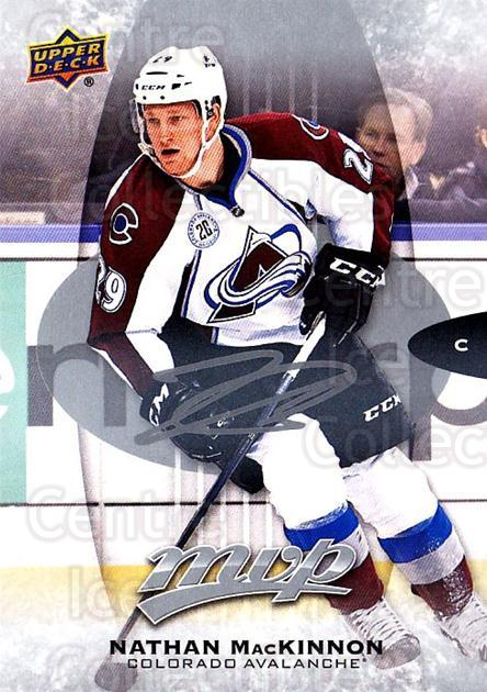 2016-17 Upper Deck MVP Silver Script #60 Nathan MacKinnon<br/>1 In Stock - $5.00 each - <a href=https://centericecollectibles.foxycart.com/cart?name=2016-17%20Upper%20Deck%20MVP%20Silver%20Script%20%2360%20Nathan%20MacKinno...&quantity_max=1&price=$5.00&code=717227 class=foxycart> Buy it now! </a>