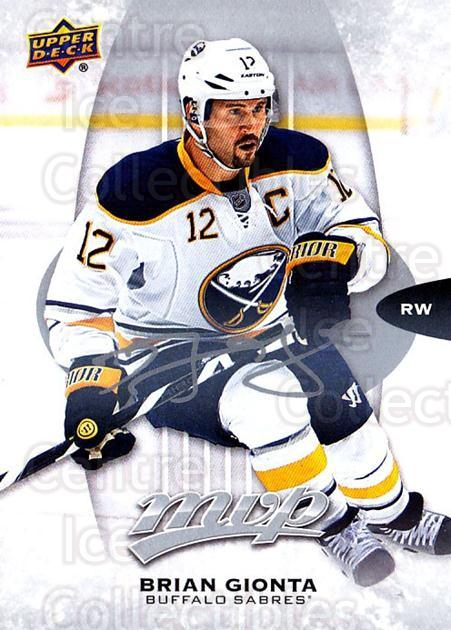 2016-17 Upper Deck MVP Silver Script #155 Brian Gionta<br/>1 In Stock - $2.00 each - <a href=https://centericecollectibles.foxycart.com/cart?name=2016-17%20Upper%20Deck%20MVP%20Silver%20Script%20%23155%20Brian%20Gionta...&quantity_max=1&price=$2.00&code=717230 class=foxycart> Buy it now! </a>