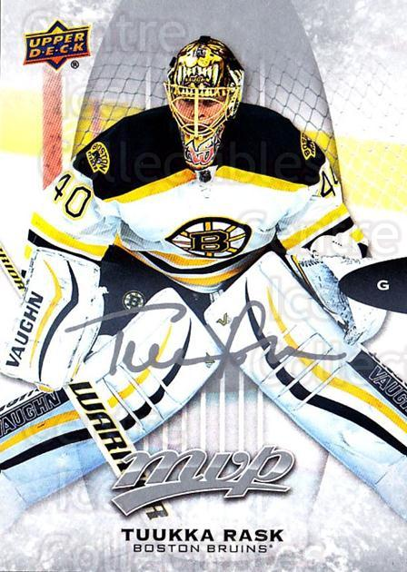 2016-17 Upper Deck MVP Silver Script #198 Tuukka Rask<br/>2 In Stock - $3.00 each - <a href=https://centericecollectibles.foxycart.com/cart?name=2016-17%20Upper%20Deck%20MVP%20Silver%20Script%20%23198%20Tuukka%20Rask...&quantity_max=2&price=$3.00&code=717232 class=foxycart> Buy it now! </a>