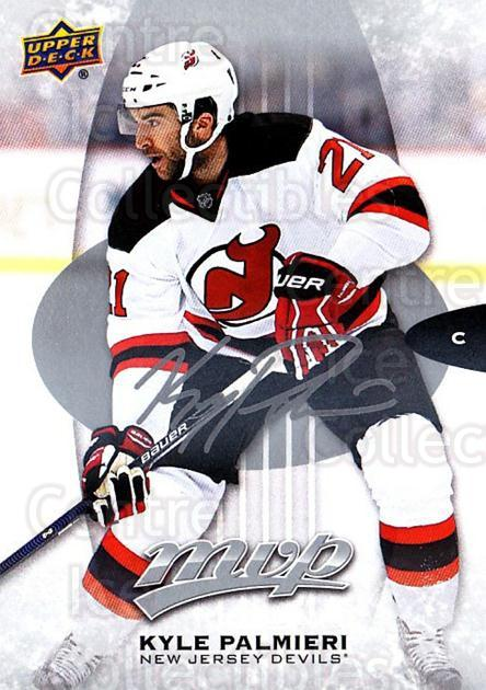 2016-17 Upper Deck MVP Silver Script #42 Kyle Palmieri<br/>1 In Stock - $2.00 each - <a href=https://centericecollectibles.foxycart.com/cart?name=2016-17%20Upper%20Deck%20MVP%20Silver%20Script%20%2342%20Kyle%20Palmieri...&quantity_max=1&price=$2.00&code=717241 class=foxycart> Buy it now! </a>