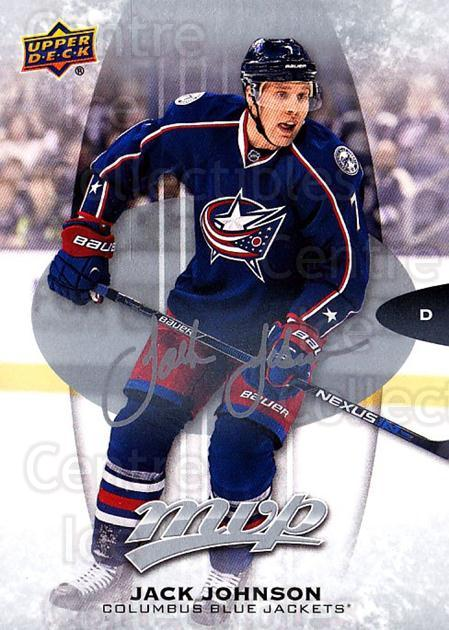 2016-17 Upper Deck MVP Silver Script #83 Jack Johnson<br/>1 In Stock - $2.00 each - <a href=https://centericecollectibles.foxycart.com/cart?name=2016-17%20Upper%20Deck%20MVP%20Silver%20Script%20%2383%20Jack%20Johnson...&quantity_max=1&price=$2.00&code=717248 class=foxycart> Buy it now! </a>