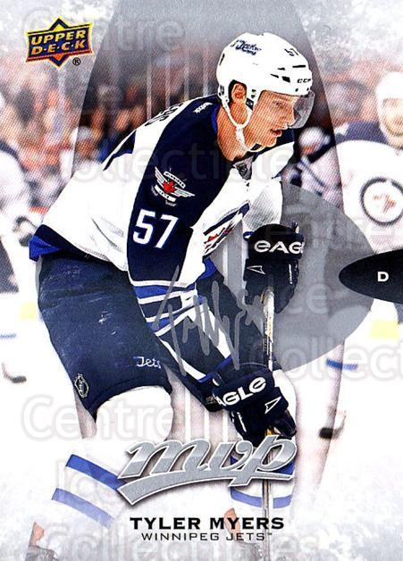 2016-17 Upper Deck MVP Silver Script #95 Tyler Myers<br/>1 In Stock - $2.00 each - <a href=https://centericecollectibles.foxycart.com/cart?name=2016-17%20Upper%20Deck%20MVP%20Silver%20Script%20%2395%20Tyler%20Myers...&quantity_max=1&price=$2.00&code=717251 class=foxycart> Buy it now! </a>