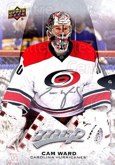 2016-17 Upper Deck MVP Silver Script #110 Cam Ward<br/>2 In Stock - $2.00 each - <a href=https://centericecollectibles.foxycart.com/cart?name=2016-17%20Upper%20Deck%20MVP%20Silver%20Script%20%23110%20Cam%20Ward...&quantity_max=2&price=$2.00&code=717255 class=foxycart> Buy it now! </a>