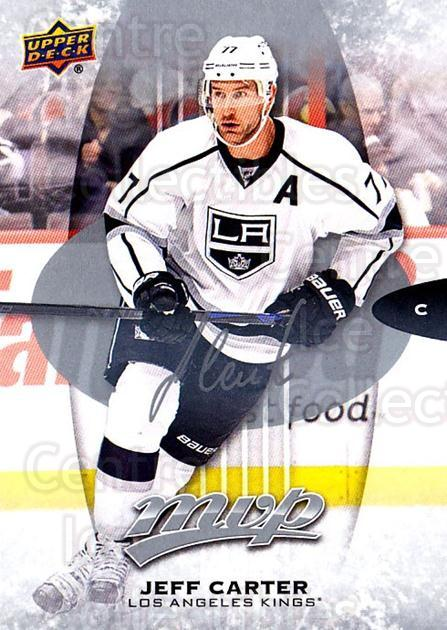 2016-17 Upper Deck MVP Silver Script #144 Jeff Carter<br/>2 In Stock - $2.00 each - <a href=https://centericecollectibles.foxycart.com/cart?name=2016-17%20Upper%20Deck%20MVP%20Silver%20Script%20%23144%20Jeff%20Carter...&quantity_max=2&price=$2.00&code=717264 class=foxycart> Buy it now! </a>