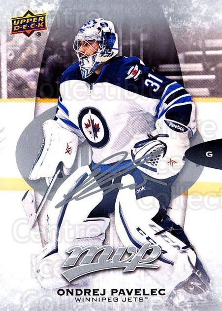 2016-17 Upper Deck MVP Silver Script #145 Ondrej Pavelec<br/>1 In Stock - $2.00 each - <a href=https://centericecollectibles.foxycart.com/cart?name=2016-17%20Upper%20Deck%20MVP%20Silver%20Script%20%23145%20Ondrej%20Pavelec...&quantity_max=1&price=$2.00&code=717265 class=foxycart> Buy it now! </a>