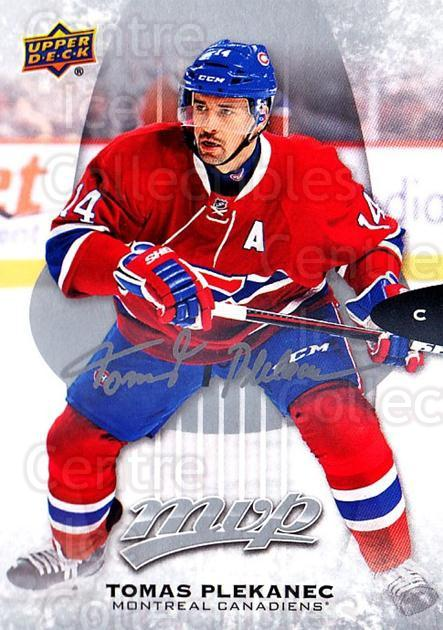 2016-17 Upper Deck MVP Silver Script #194 Tomas Plekanec<br/>1 In Stock - $2.00 each - <a href=https://centericecollectibles.foxycart.com/cart?name=2016-17%20Upper%20Deck%20MVP%20Silver%20Script%20%23194%20Tomas%20Plekanec...&quantity_max=1&price=$2.00&code=717273 class=foxycart> Buy it now! </a>