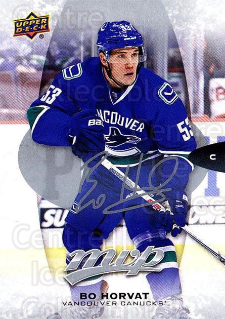 2016-17 Upper Deck MVP Silver Script #6 Bo Horvat<br/>2 In Stock - $2.00 each - <a href=https://centericecollectibles.foxycart.com/cart?name=2016-17%20Upper%20Deck%20MVP%20Silver%20Script%20%236%20Bo%20Horvat...&quantity_max=2&price=$2.00&code=717276 class=foxycart> Buy it now! </a>