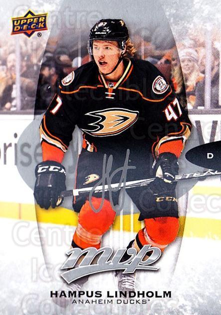 2016-17 Upper Deck MVP Silver Script #44 Hampus Lindholm<br/>1 In Stock - $2.00 each - <a href=https://centericecollectibles.foxycart.com/cart?name=2016-17%20Upper%20Deck%20MVP%20Silver%20Script%20%2344%20Hampus%20Lindholm...&quantity_max=1&price=$2.00&code=717294 class=foxycart> Buy it now! </a>